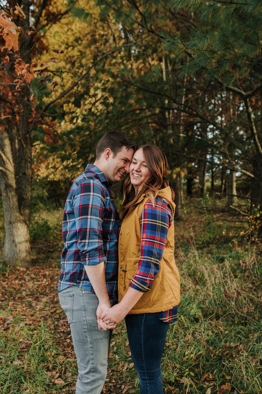 Katie & Adam - Engaged - Nathaniel Jensen Photography - Omaha Nebraska Wedding Photograper - Omaha Nebraska Engagement Session - Chalco Hills Engagement Session-36.jpg