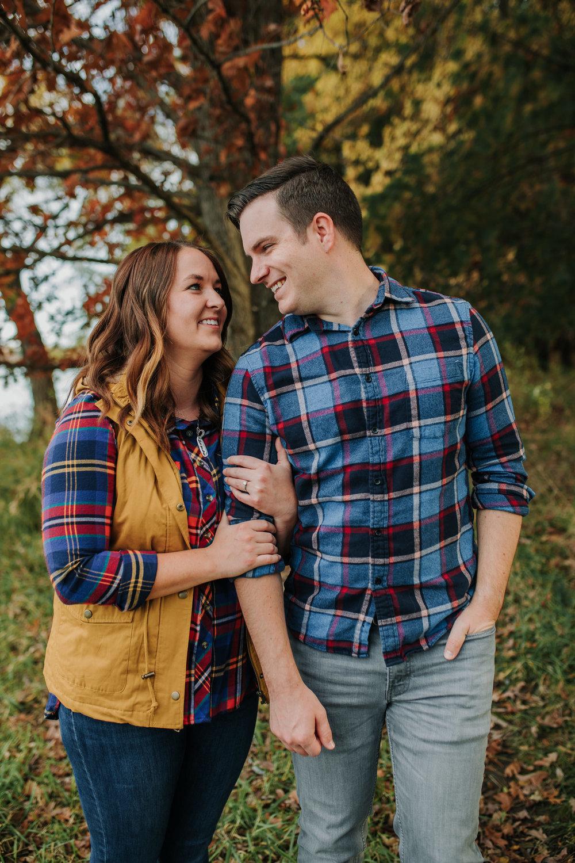 Katie & Adam - Engaged - Nathaniel Jensen Photography - Omaha Nebraska Wedding Photograper - Omaha Nebraska Engagement Session - Chalco Hills Engagement Session-39.jpg