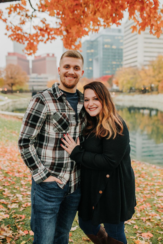 Hannah & Brett - Engaged - Nathaniel Jensen Photography - Omaha Nebraska Wedding Photograper - Omaha Nebraska Engagement Session - Downtown Omaha Engagement Session-79.jpg