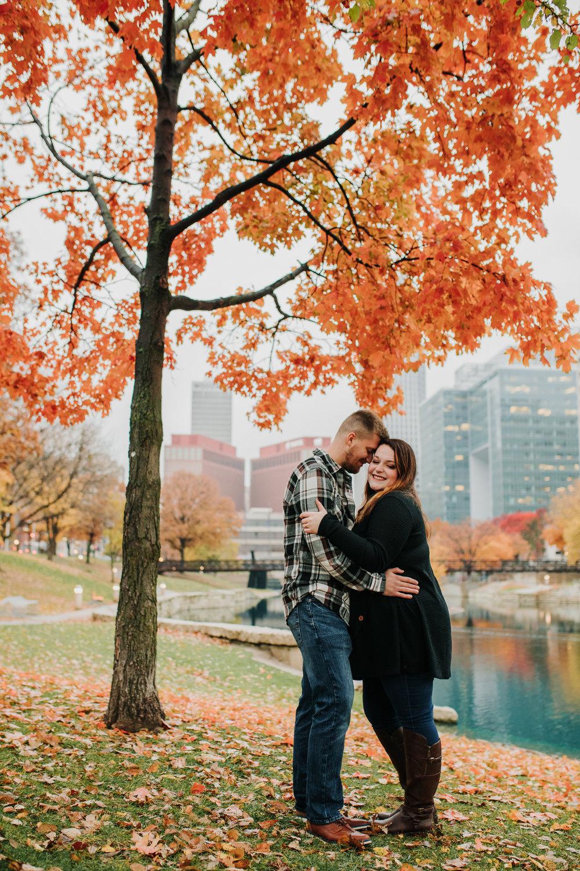 Hannah & Brett - Engaged - Nathaniel Jensen Photography - Omaha Nebraska Wedding Photograper - Omaha Nebraska Engagement Session - Downtown Omaha Engagement Session-83.jpg