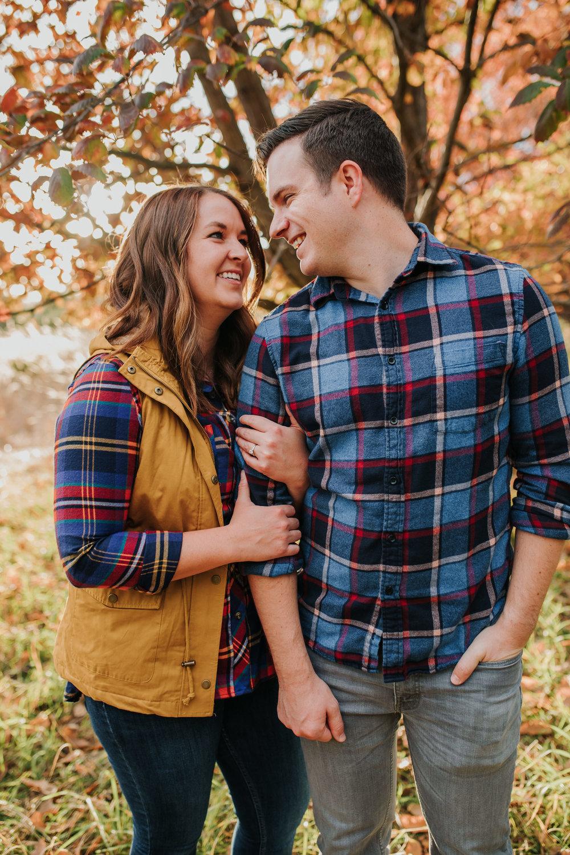 Katie & Adam - Engaged - Nathaniel Jensen Photography - Omaha Nebraska Wedding Photograper - Omaha Nebraska Engagement Session - Chalco Hills Engagement Session-74.jpg