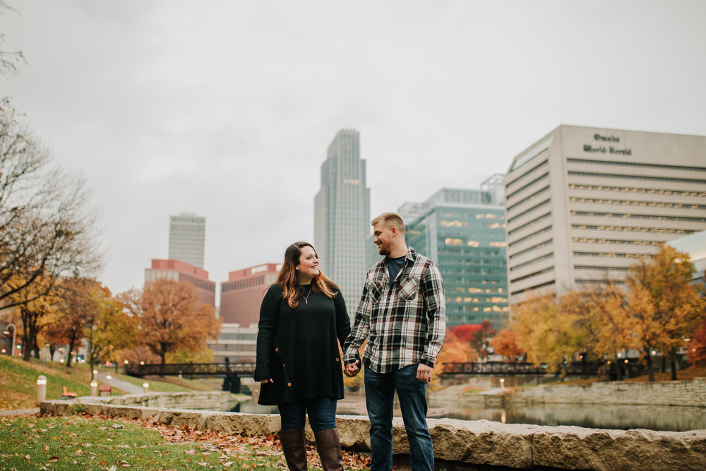 Hannah & Brett - Engaged - Nathaniel Jensen Photography - Omaha Nebraska Wedding Photograper - Omaha Nebraska Engagement Session - Downtown Omaha Engagement Session-93.jpg