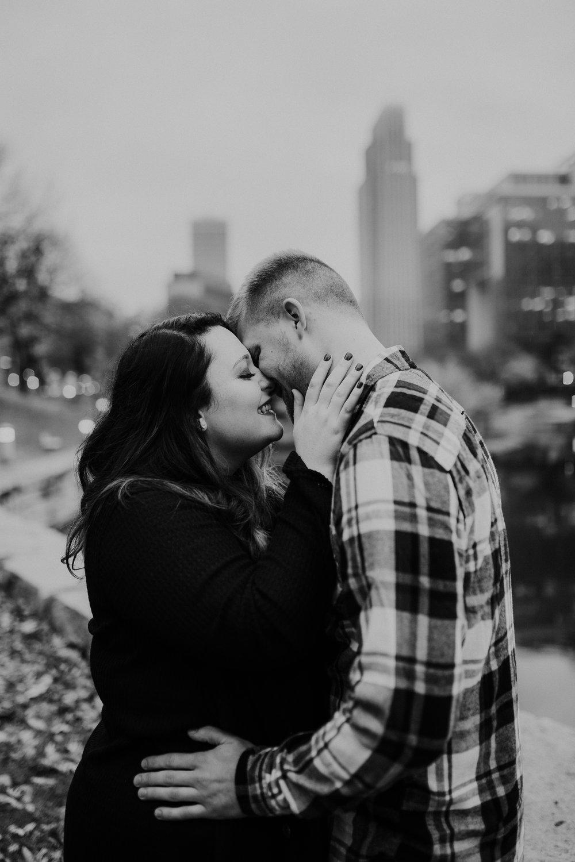 Hannah & Brett - Engaged - Nathaniel Jensen Photography - Omaha Nebraska Wedding Photograper - Omaha Nebraska Engagement Session - Downtown Omaha Engagement Session-100.jpg