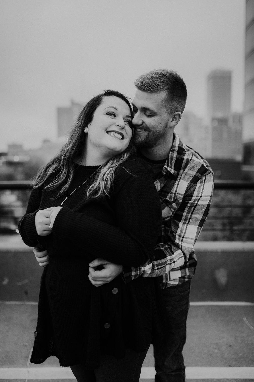 Hannah & Brett - Engaged - Nathaniel Jensen Photography - Omaha Nebraska Wedding Photograper - Omaha Nebraska Engagement Session - Downtown Omaha Engagement Session-110.jpg