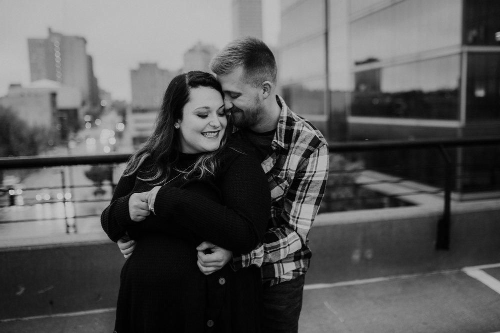 Hannah & Brett - Engaged - Nathaniel Jensen Photography - Omaha Nebraska Wedding Photograper - Omaha Nebraska Engagement Session - Downtown Omaha Engagement Session-114.jpg