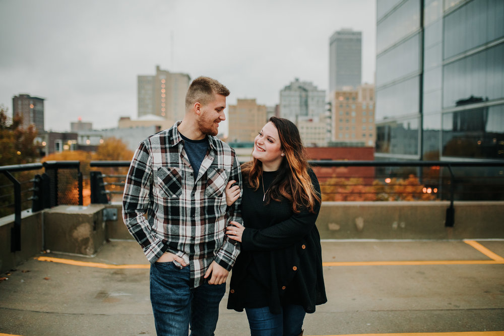 Hannah & Brett - Engaged - Nathaniel Jensen Photography - Omaha Nebraska Wedding Photograper - Omaha Nebraska Engagement Session - Downtown Omaha Engagement Session-119.jpg