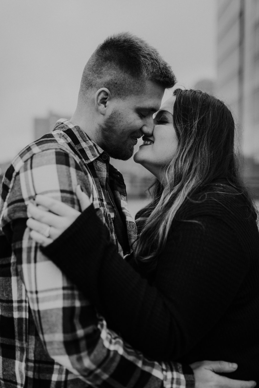 Hannah & Brett - Engaged - Nathaniel Jensen Photography - Omaha Nebraska Wedding Photograper - Omaha Nebraska Engagement Session - Downtown Omaha Engagement Session-122.jpg
