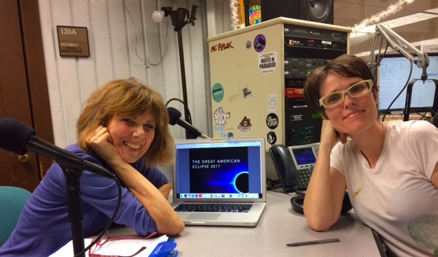 Front Porch Radio with Julie Wilder - The radio show is a full hour chat where we get into the Eclipse's impact on the USA, youth, women and yes, even Donald Trump!LISTEN HERE >