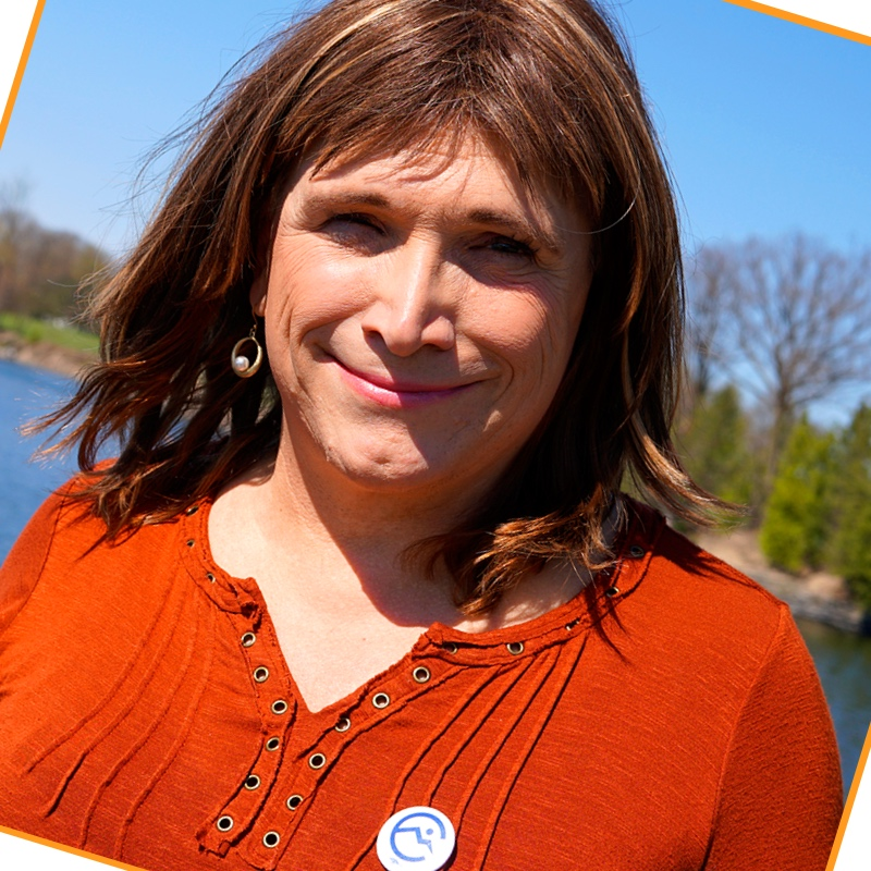 Christine Hallquist, former CEO of Vermont Electric Cooperative, was America's first openly transgender candidate for governor from a major political party. Photo: Christine for Vermont