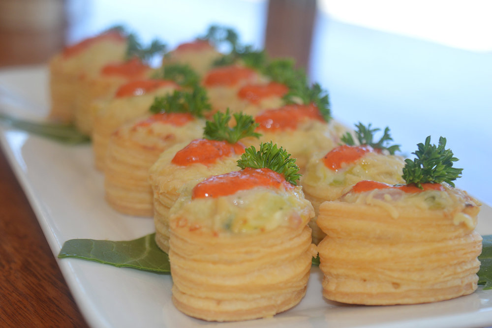 Canap s d 39 vine catering events for Canape oriental