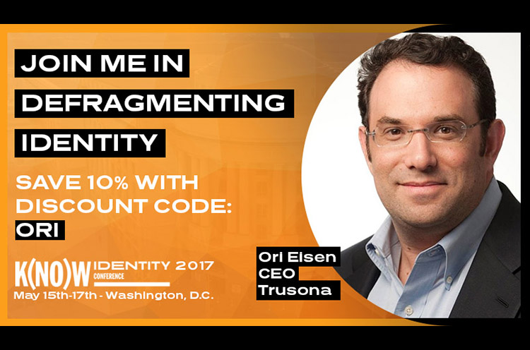 Ori Eisen OWI Know Identity Conference