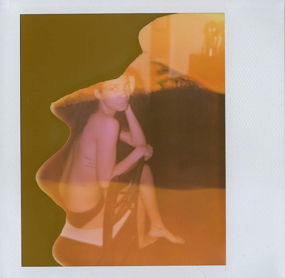 Anabel de Leon in Brooklyn, NY -- Expired Polaroid Spectra -- February 2017