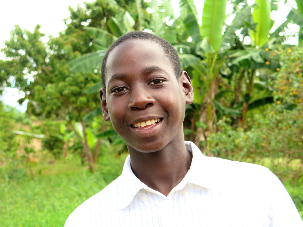 Marvin  - in Senior Four at Zaake Secondary School. He loves computers and hopes to become an administrator.
