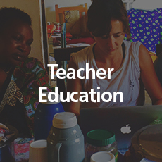 Teacher Education We invite education professionals to help train and upskill our teachers.