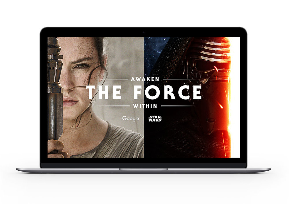 Awaken the Force Within Landing Page