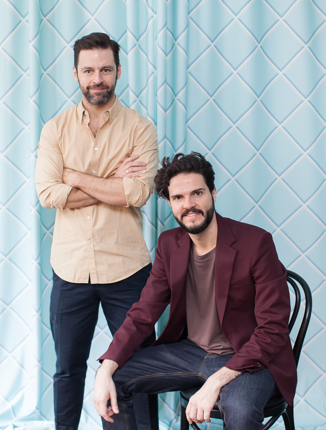 Architects Guto Requena and Mauricio Arruda