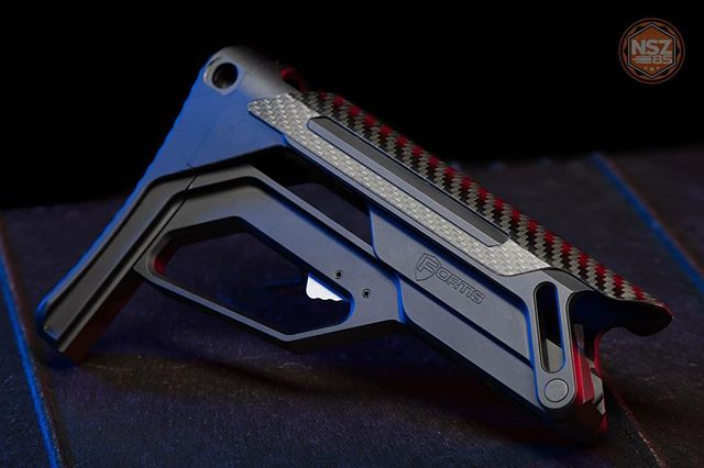 @fortismfg Lever Action Stock. Carbon fiber hotness. 😍🔥🔥🔥 #nsz85 #ar15 #ar15news #fortismfg