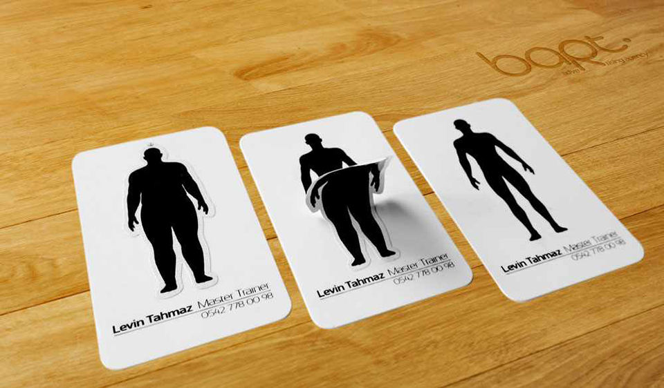 Business Card Ideas For Health & Fitness... — fizzYcaL
