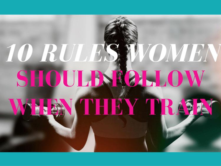women train