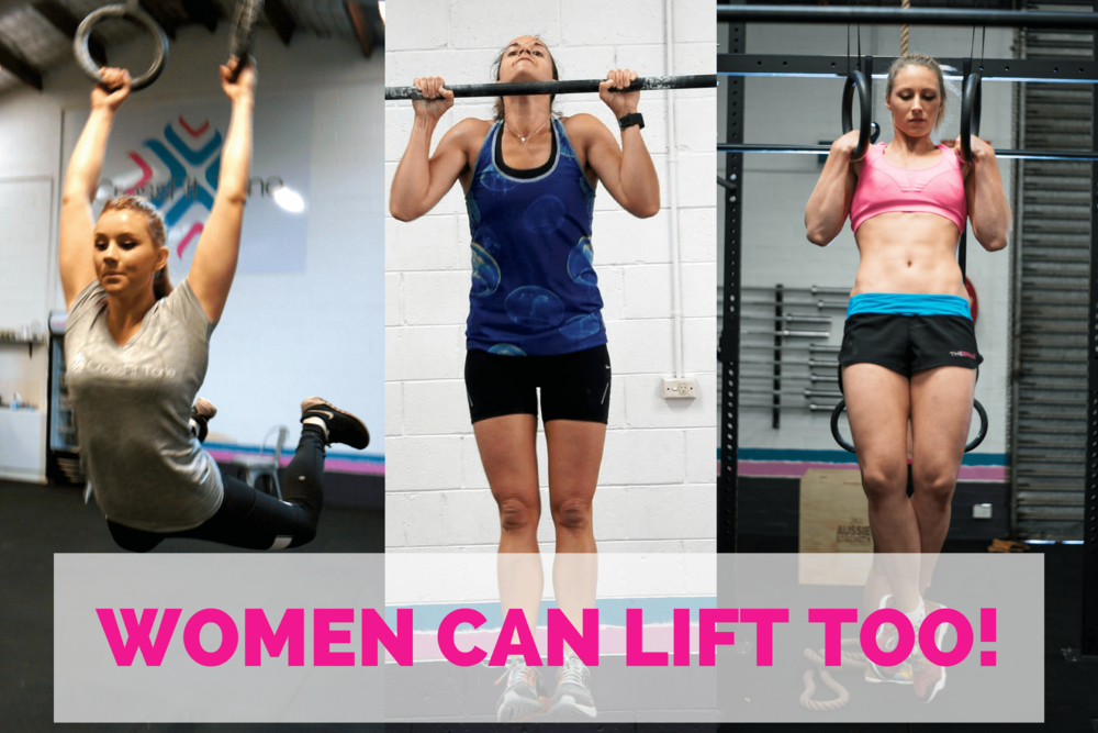 women that lift