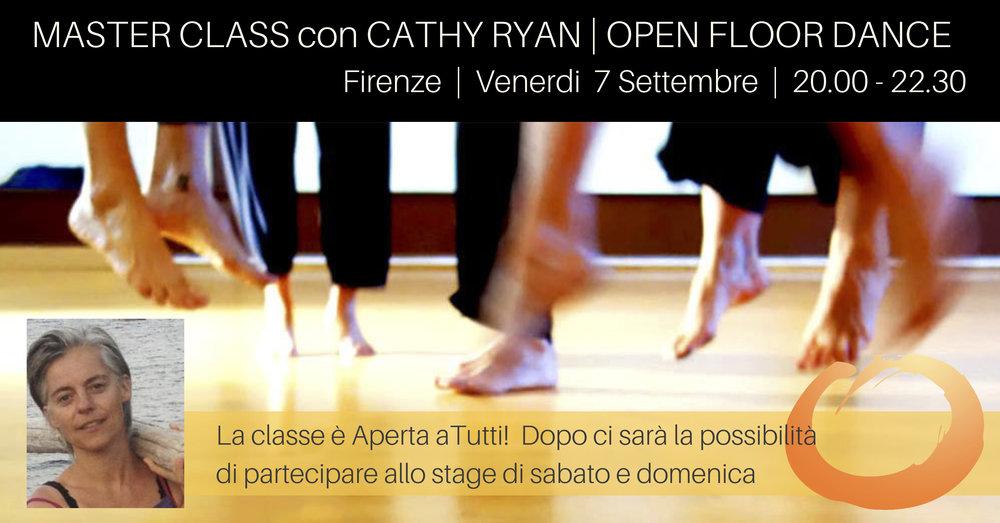 Cathy Ryan Open Floor ITALY