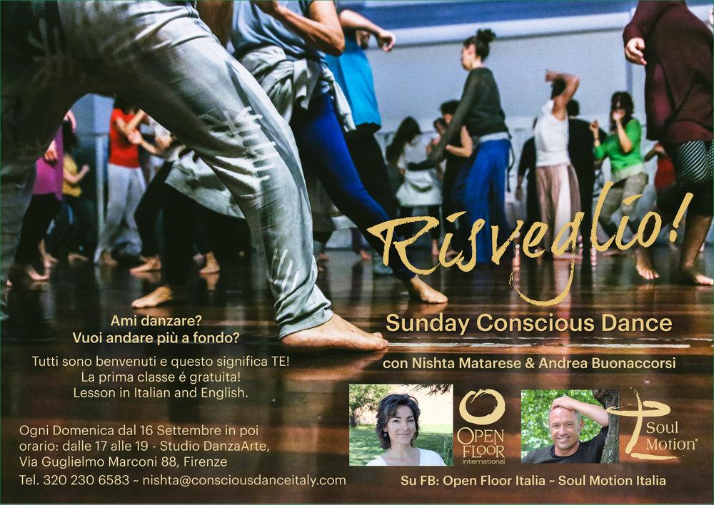 Open Floor Italian Conscious Dance Nishta