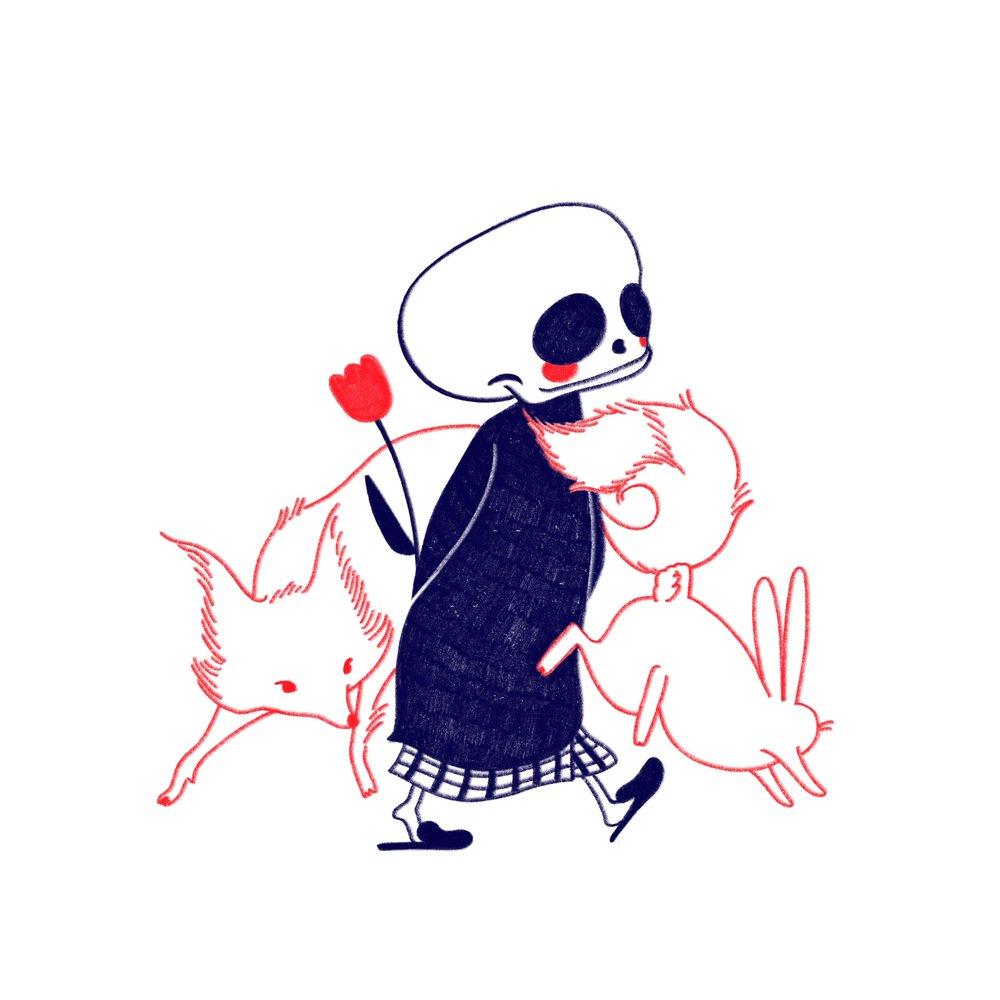 20180928 Death, Fox & Rabbit.JPG