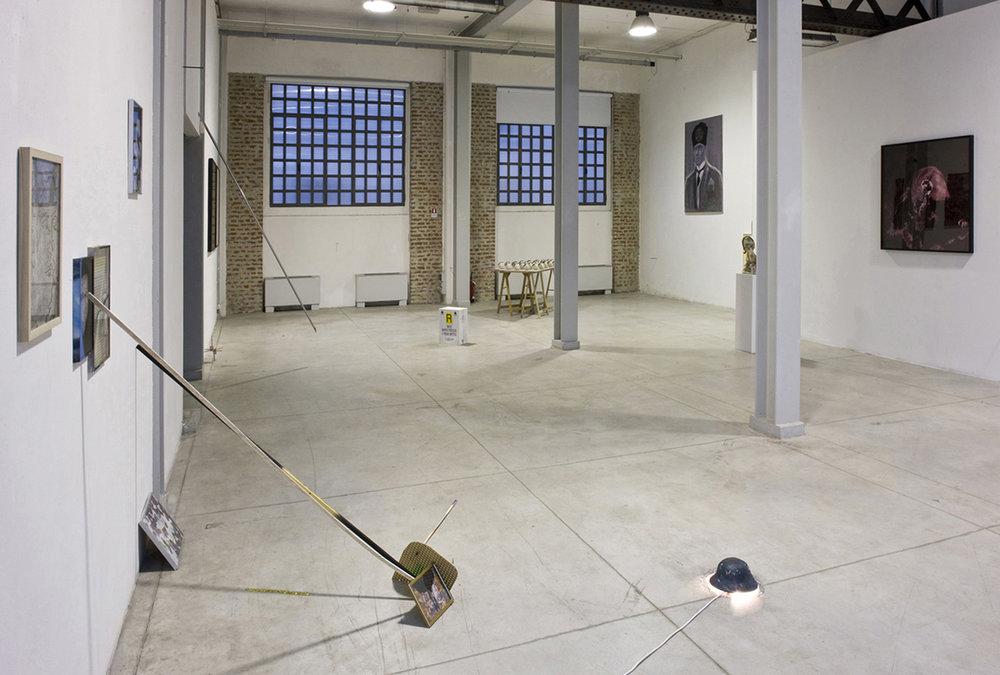 installation view at DOCVA, Milan - photo: Zeno Zotti  Il raccolto d'autunno continua ad essere abbondante, 2010