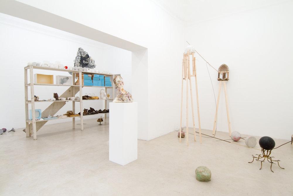 Soprammobile I, 2010 - installation view at Uno + Uno Gallery, Milano