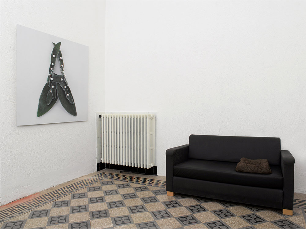 installation view at Lucie Fontaine, Milan  photo: Alessandra Sofia