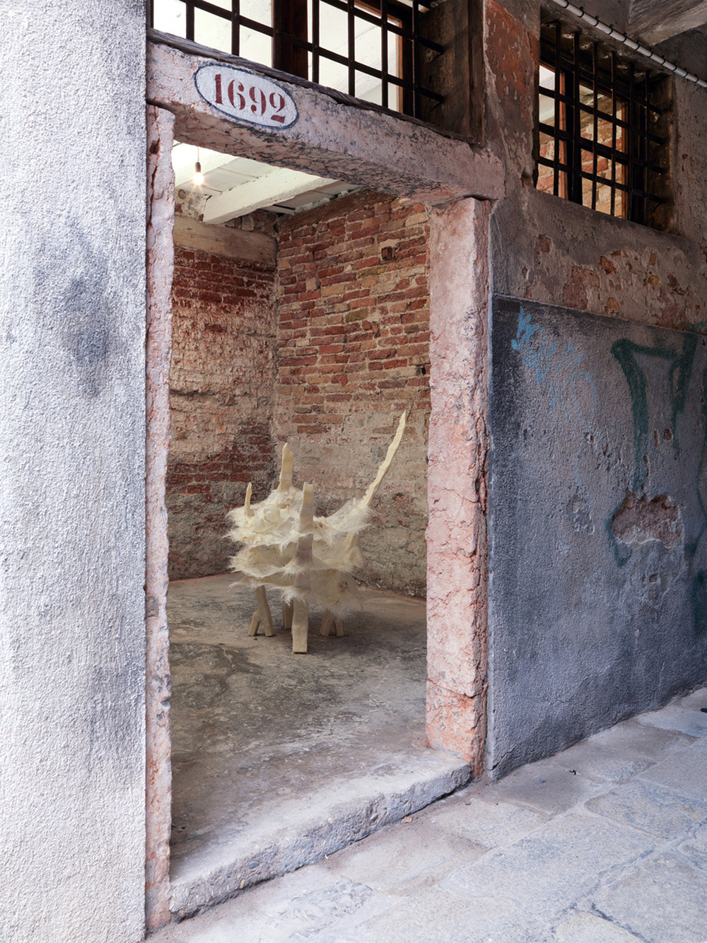 installation view at DNA project box, Venice  photo: Alessandro Zambianchi