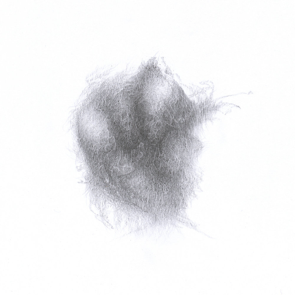Untitled, 2014 - pencil on paper, 21,5 x 21,5 cm
