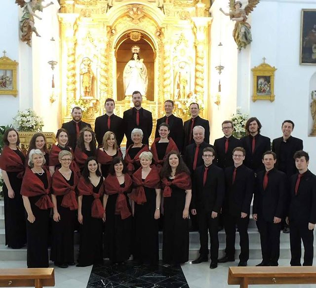 Taking a moment to remember our tour of Spain in 2016. We sang in some beautiful churches and had an amazing time singing the fabulous repertoire! . . . #madrigal75 #mijas #spain #cork #choral #vocalensemble #singing #music