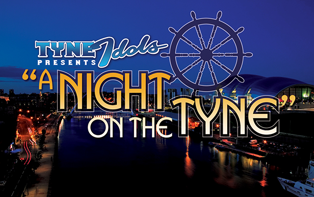 Graphic to promote the first  Night On The Tyne  river cruise. We really should do this again.