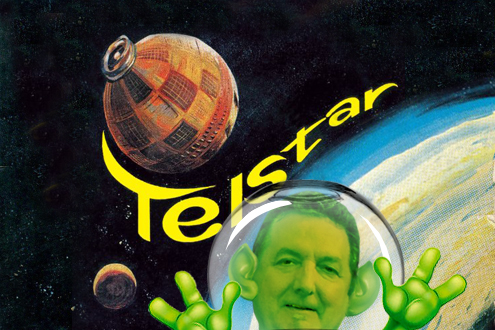 More publicity for the Phippsmeister, this time for his 2017 talk on the theme of Telstar and Joe Meek.