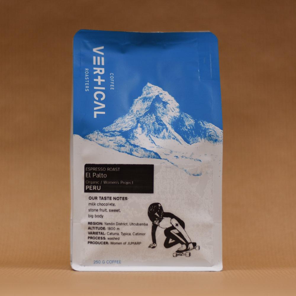 Peru El Palto Organic   Café de Mujeres - espresso roast — Vertical Coffee  Roasters 5046ccc33d1