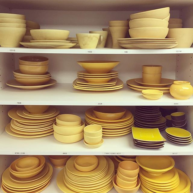 Vit D hit. . . #prophouse #crockery #plates #yellow #yellowceramics #ceramics