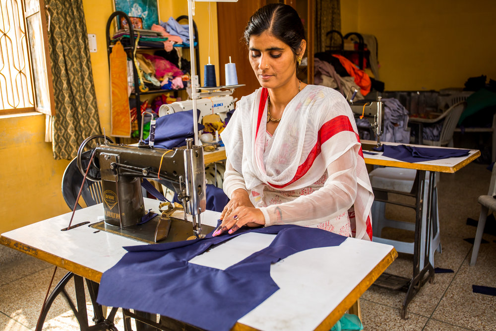 FFLV employ local women to fulfill the many basic needs at FFLV such as sewing school uniforms