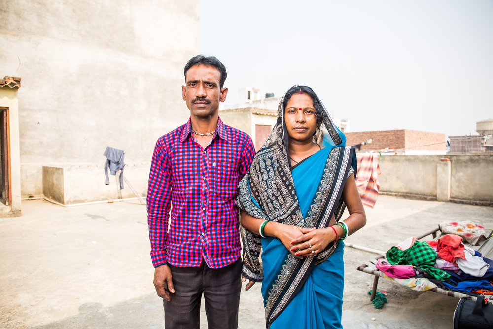 Rani's parents lived inside a tarp tent for 2 years before getting employed by FFLV