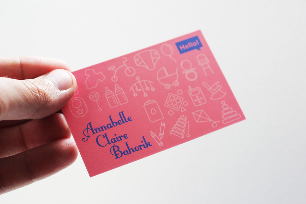 Baby Business Cards — Crafted Action