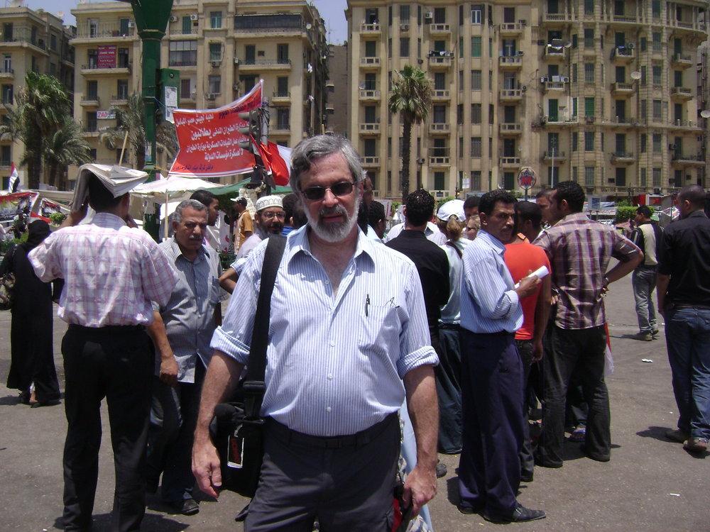Tahrir Square, Cairo, 2011.