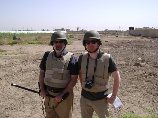In Iraq, with Andrew Gray of Reuters.
