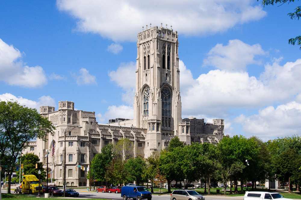 Scottish Rite Cathedral, Indianapolis, US