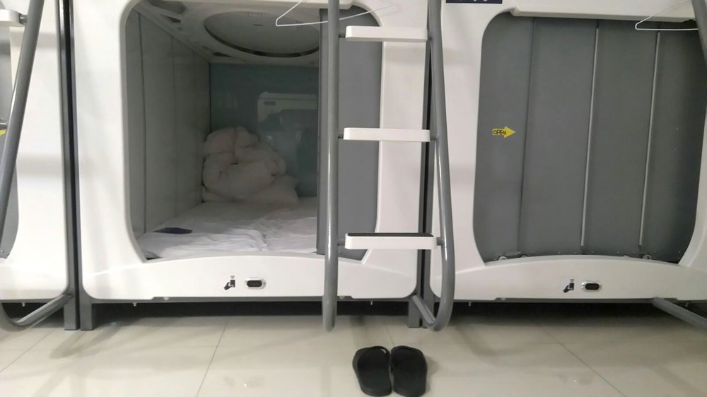 Pods - Capsule Hotel, Taiwan, 2017