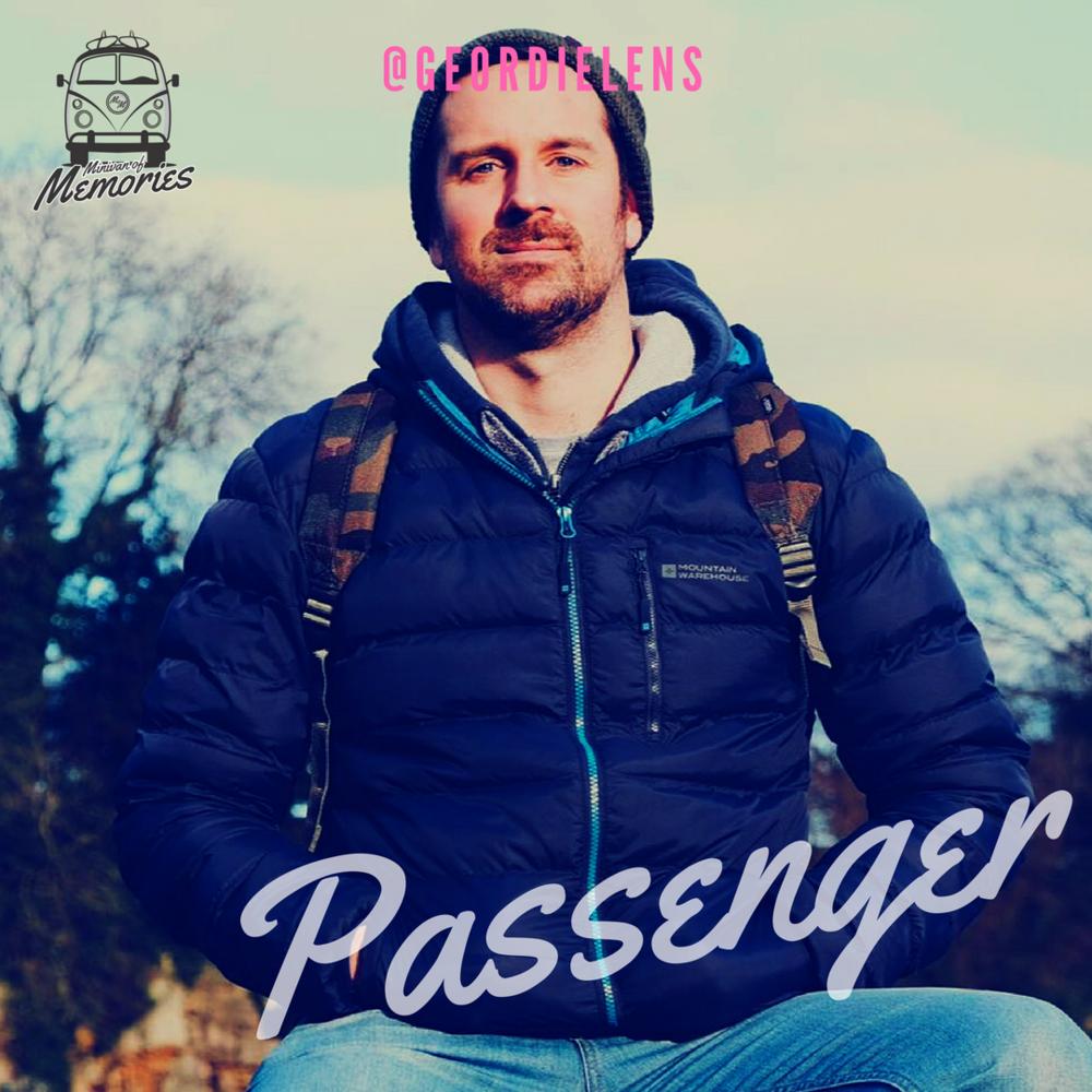 Passenger Andrew Clarey - @geordielens
