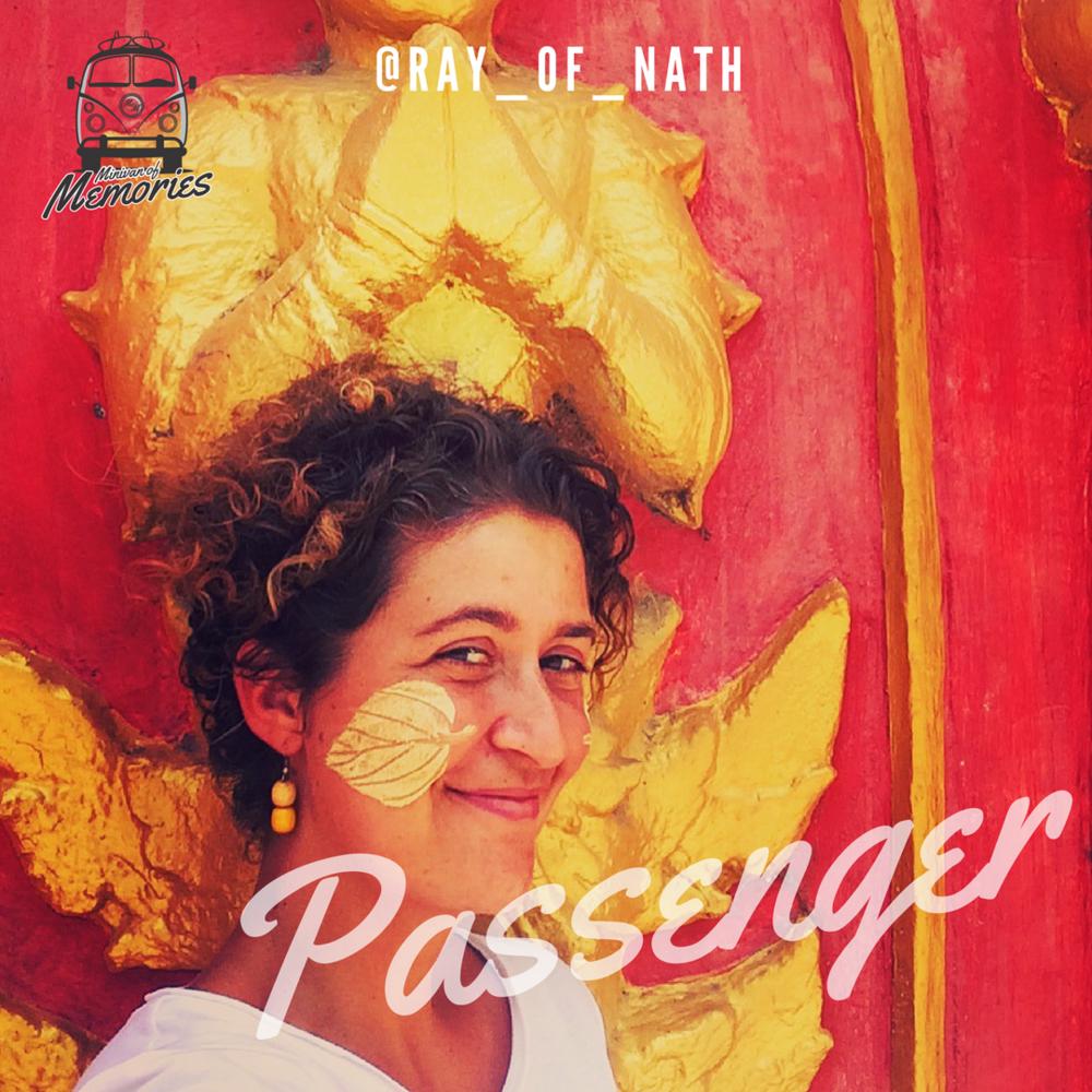 Passenger Nathalie Richard - @ray_of_nath