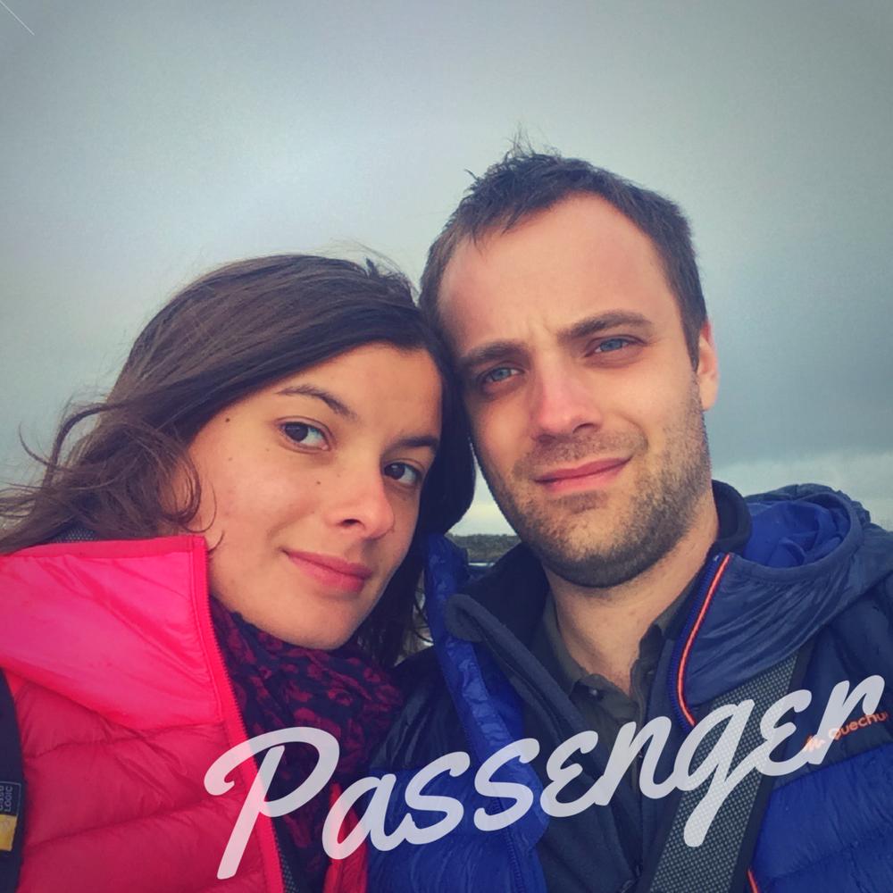 Passengers Anaïs and Xavier