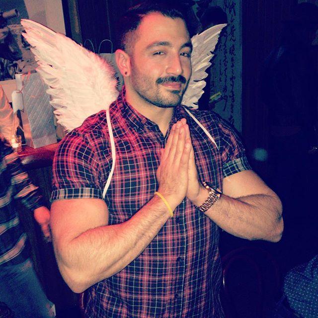 Just like an angel.... . . . . #angel #goodboy #beardedvillains #wings #smirk #howth #praying #justme #pognophile #boy #inspiration #picoftheday #borntobeard #gangster #iphonesia #mensfashion #scruff #gay #instagoodmyphoto #instagood #happy #bestoftheday #moustache #thegaypassport #thenexttopgay #cheeky