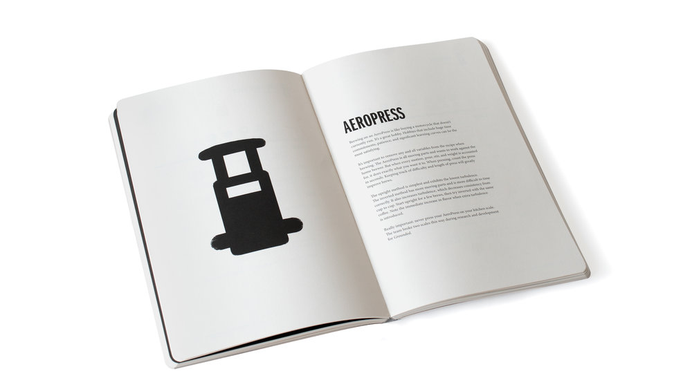 Grounded Coffee Book Aeropress Recipe