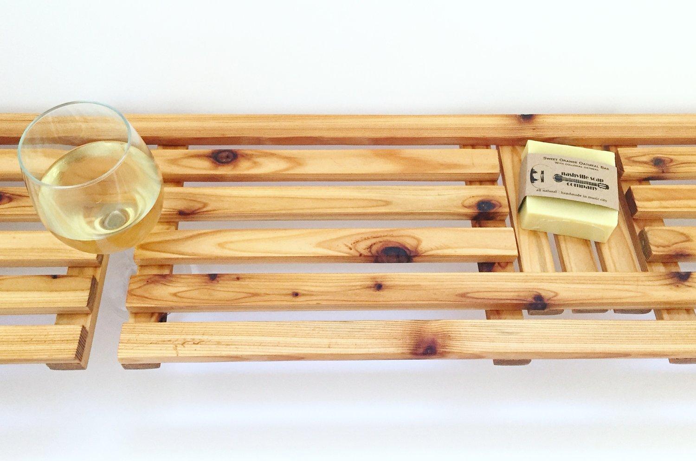 Custom Bathtub Tray — Nashville Soap Company